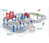 Мода Brinquedos Menino игрушечный поезд наборы модели автомобилей + волшебная игрушка грузовик фермы старинных автомобилей игрушки