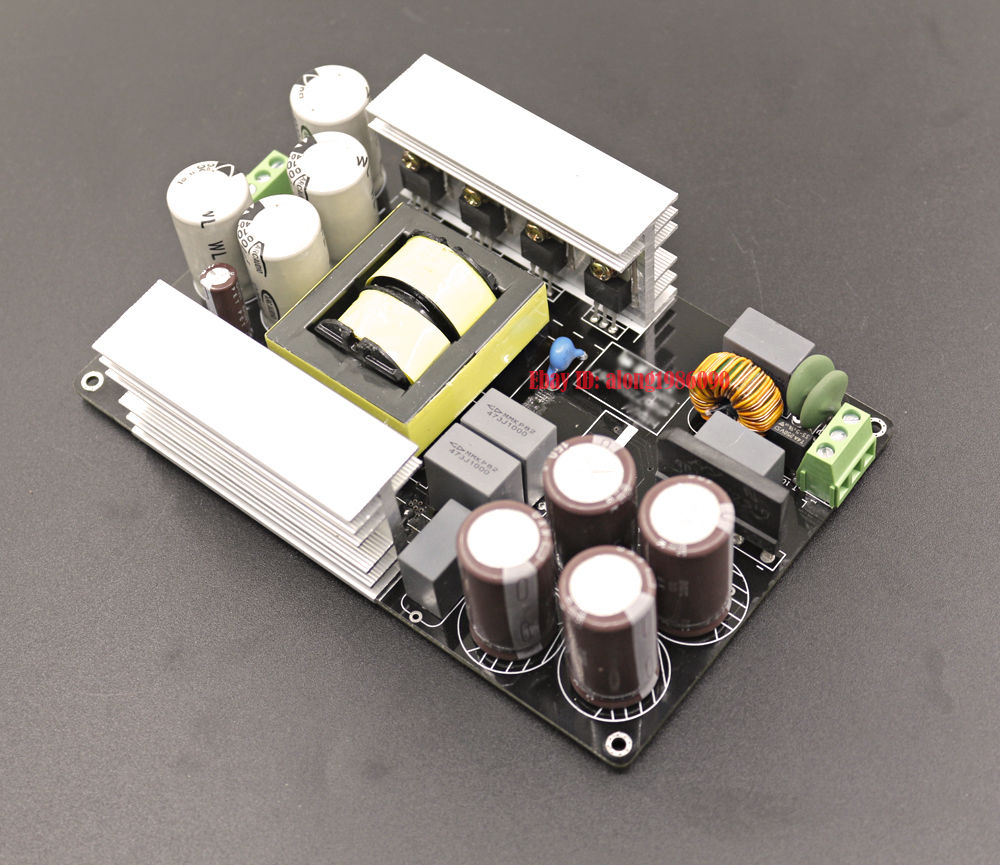 1000w Llc Soft Switching Power Supply Hifi Audio Amplifier Psu Board 24v6a Low Consumption Regulated Circuit 90v High Quality