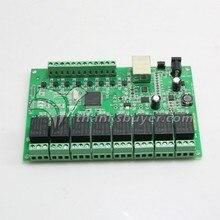 8 Реле Канала Сети IP Реле Веб-Реле Двойной Контроль Ethernet RJ45 интерфейс