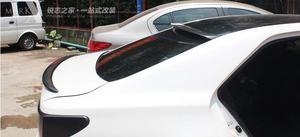 Image 4 - באיכות גבוהה נדל סיבי פחמן רכב אחורי גג ספוילר כנף עבור טויוטה Mark x/רייז 2010 2019