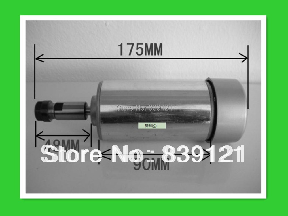 hot sell Lowest price CNC 300W Air cool Spindle take ER11  цены