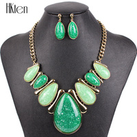 MS17896 Fashion Brand Jewelry Sets Gold Plated Bridal Jewelry Drop Design High Quality 2014 New