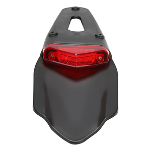Image 2 - 1PC Motorcycle Off road Rear Fender LED Stop Tail Light For Enduro Trials Trailbikes XR400 For Yamaha WR250/ 450 TTR250 TT600 RE