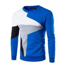 Winter Mens Fashion Slim Fit Mantel Lässig Warme Pullover Pullover Oansatz Gestrickten Pullover Tops