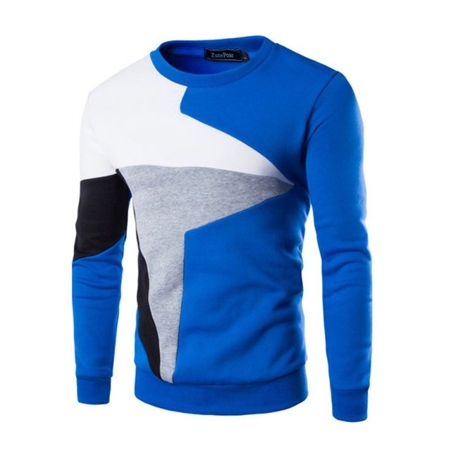 Winter Mens Fashion Slim Fit Coat Casual Warm Sweater Pullover O-Neck Knitted Sweater Tops