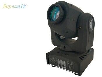 Transporte rápido 2 pçs/lote 4IN1 30 W mini led spot luz em movimento da cabeça led Mini Movendo A Cabeça Leve 8 gobos efeito DMX luz do estágio