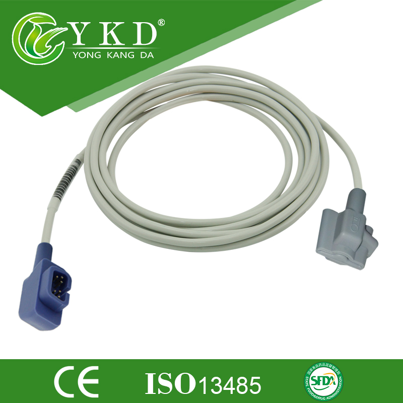 YKD Spo2 sensor suppliers for Pediatric soft tip spo2 probe works with CSI 503DX, 503spot 504DX 506 3m 6pin