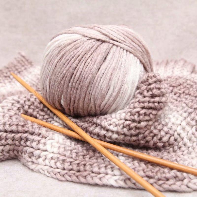 Haute qualité 140 g/Lot pur Laine fil doux bébé Crochet épais fil pour Tricoter Chunky Laine pour chapeaux écharpe Laine A Tricoter