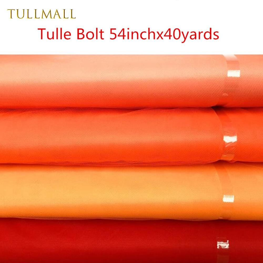 TULLMALL 63 Cores Estoque Tule Parafuso 54