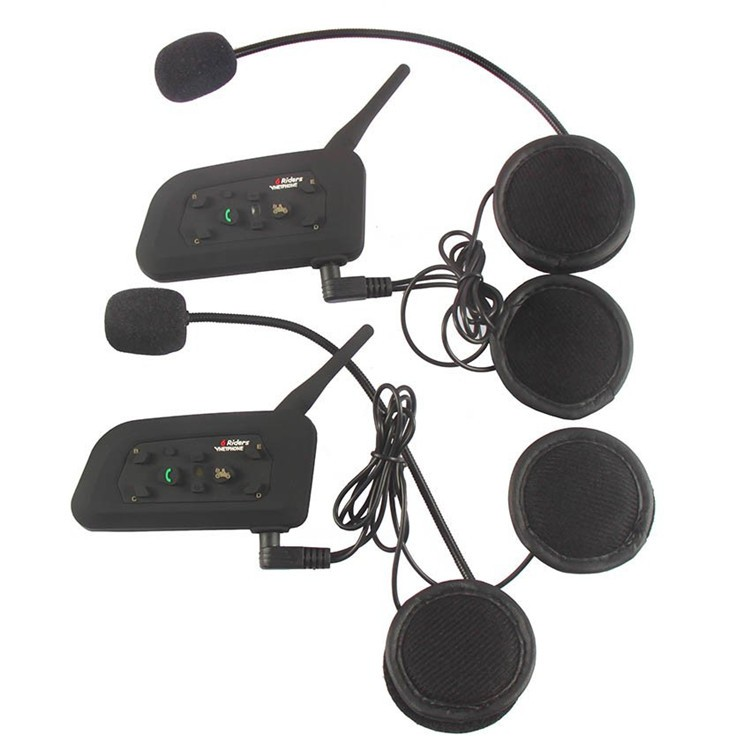 Bluetooth Motorcycle Helmet Intercom 1200M (8)