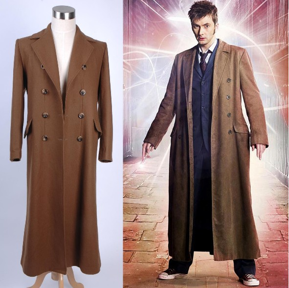 Online Buy Wholesale long brown trench men coat from China long ...
