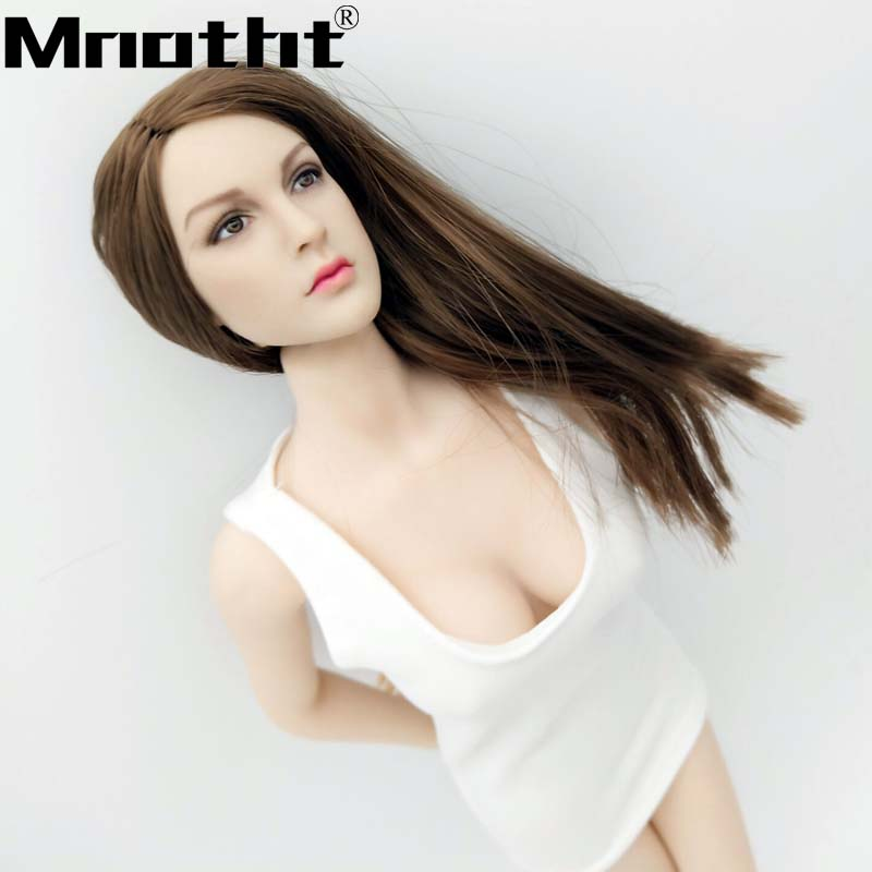 """1//6 scale Open Chest Long Sleeves T-Shirt for 12/"""" Female Figure Doll PHICEN"""