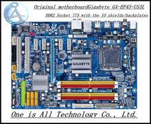 original Free shipping motherboard for Gigabyte GA-EP43-US3L  EP43-US3L DDR2  LGA 775  Realtek RTL8111C  free shipping