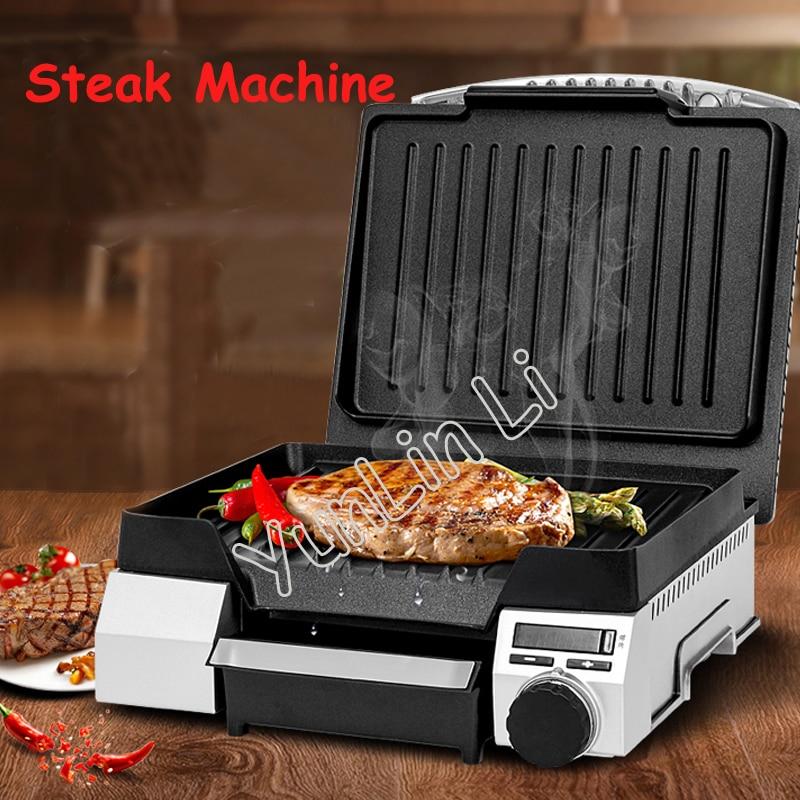 Electric Non-stick Pan Griddles Professional Beef Steak Machine Stainless Steel Housing Steak Machine TSK-26R2ET14 цены