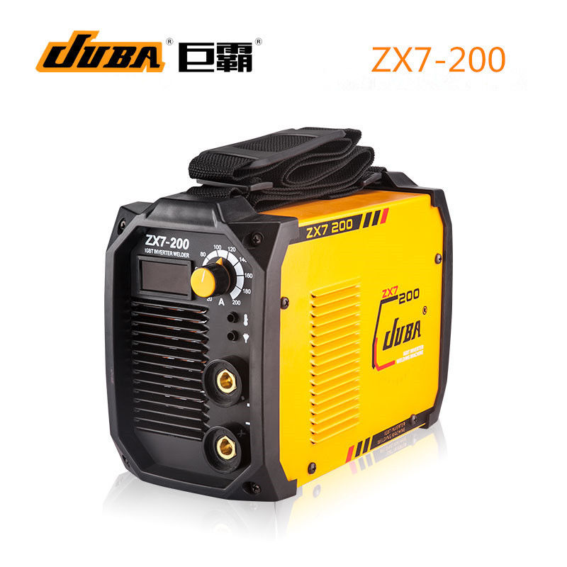 JUBA Whole Copper MINI Welder 170V-260V IGBT Portable Welding Inverter MMA ARC ZX7-200 Welding Machine portable arc welder household inverter high quality mini electric welding machine 200 amp 220v for household