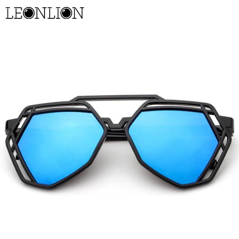 f18244d2a9 Αγορά Γυναίκες ' s γυαλιά | LeonLion 2018 Rainbow Hollow Glasses Feminina Top  Brand Designer Sunglasses Women Luxury Candies Lady Outdoor Sun Glasses