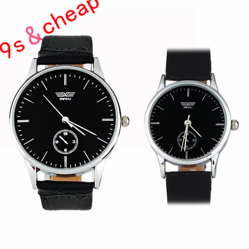 Luxury Brand Watches Men Fashion Casual Quartz Watch Classic Genuine Leather Strap Male Wristwatch Relogio Masculino #170717