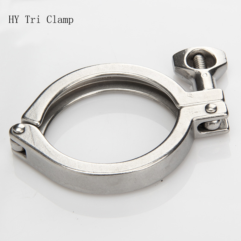 OD154 Clamp 167 Stainless Steel Tri Clamp    Quick Release Clamps Pipe Cover