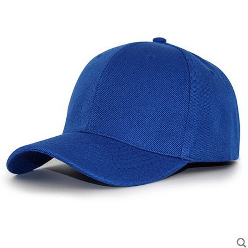 Women Men's Basic Plain Baseball Caps Adjustable Curved Visor Hat black red blue pink brown gray white beige