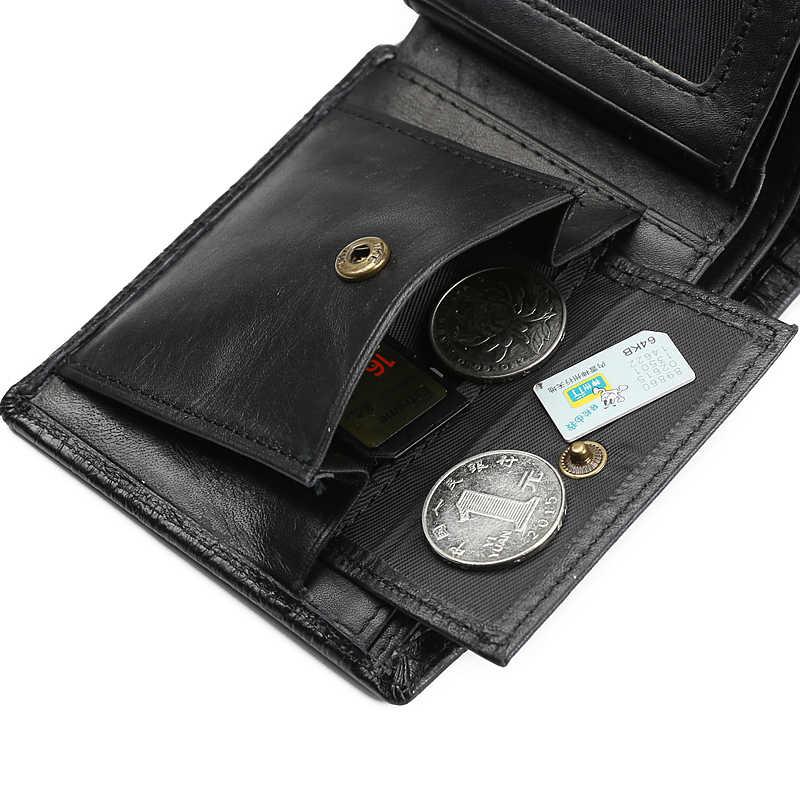 JINBAOLAI мужской кошелек Модный 3D крокодиловый кошелек из натуральной кожи Двойные дизайнерский держатель для карт кошелек с карманом для монет carteira