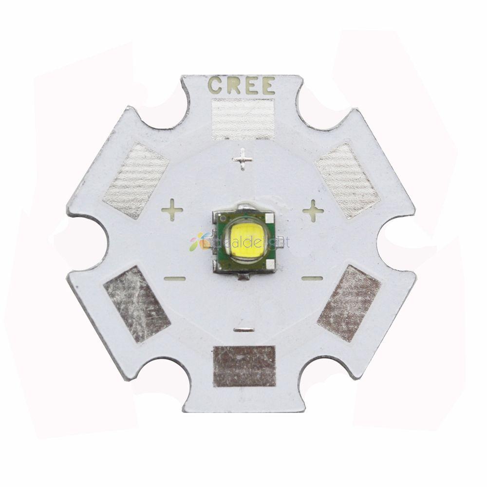 10pcs CREE XPG XP-G R5 LED 1-5W Lamp Chip Emitter Cold White 6000-6500K;Warm White 3000-3200K LED With 16mm Or 20mm Star PCB