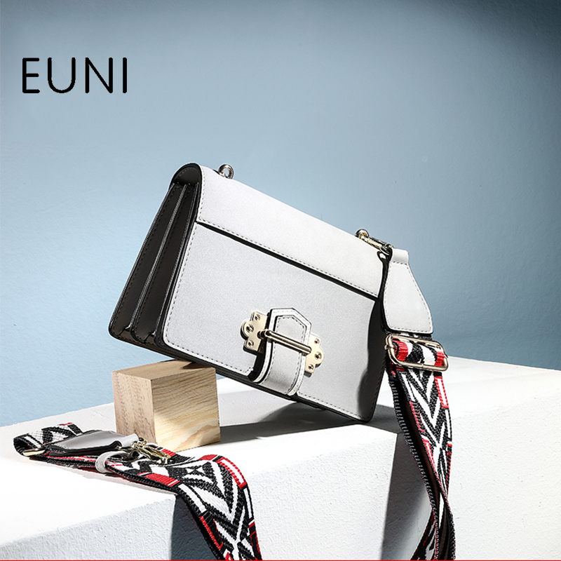 EUNI Brand Fashion Womens Shoulder Bags Women expanding Organ Cross bag Casual Crossbody Bags For Female