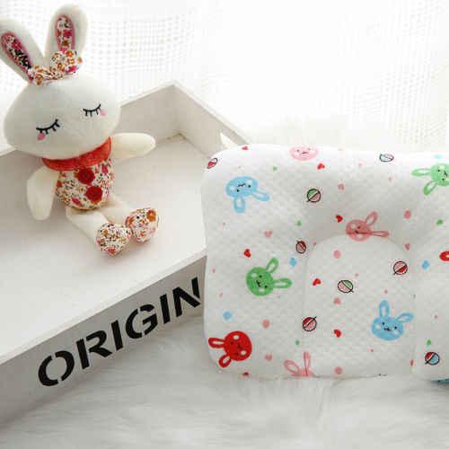 Новорожденный ребенок подушка памяти пены позиционер предотвращает плоскую голову против скатывания