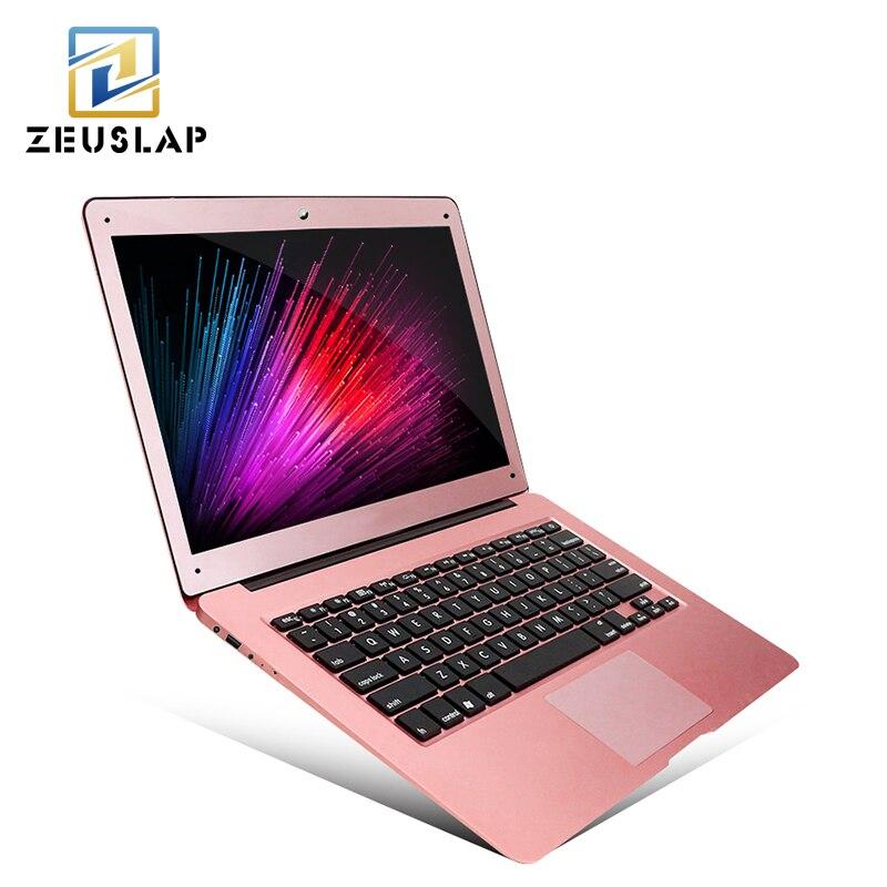 ZEUSLAP 14inch 8GB font b RAM b font 1TB HDD Windows 7 10 System Intel Quad