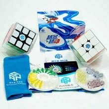Gan 356 X Magnetic 3x3x3 Cube Magic Speed Toy Professional Gans Cubo Speedcube Magico 356x r