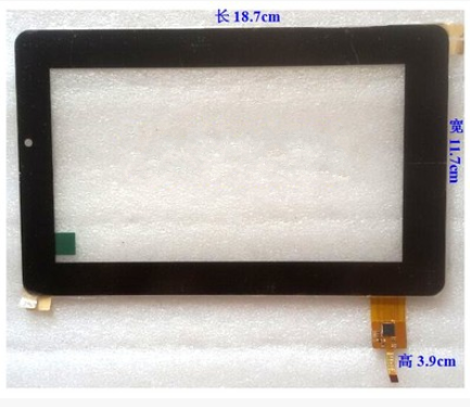 Новый оригинальный 7 дюймов tablet емкостной сенсорный экран UK070004G-01 FPC (V0.1) бесплатная доставка