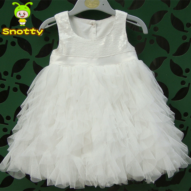 1 Year Baby Angel Dress Girls White Pink Birthday Party For Cheap Little Girl Pageant Dresses KD 1428 In Flower From Weddings