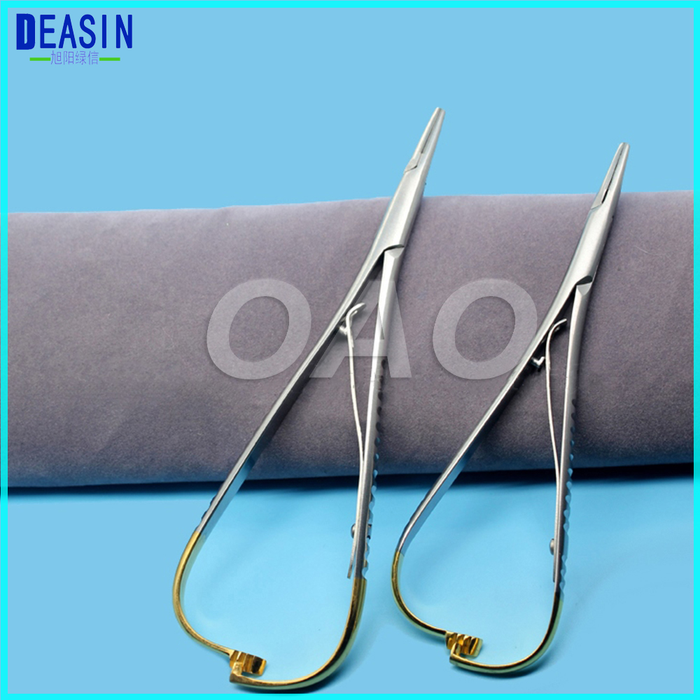 Good quality New Arrival 1 pc Dental Needle Holder Pliers Dentist Surgical Device Instrument Equipment new dental endotreatment device wireless cordless motor equipment