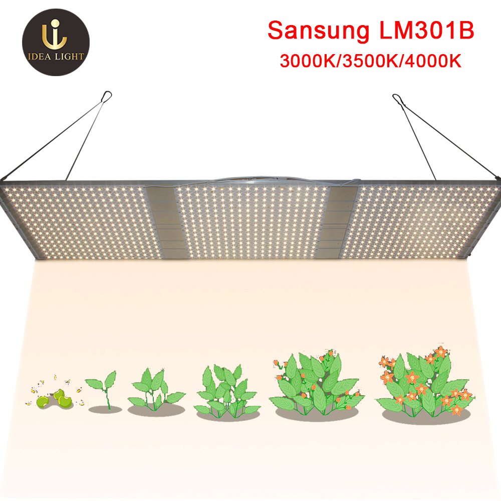 led grow light quantum board Samsung LM301B LED Full spectrum 120w 240w 320w samsung 3000K 660nm Veg Bloom state Meanwell driver in LED Grow Lights from Lights Lighting