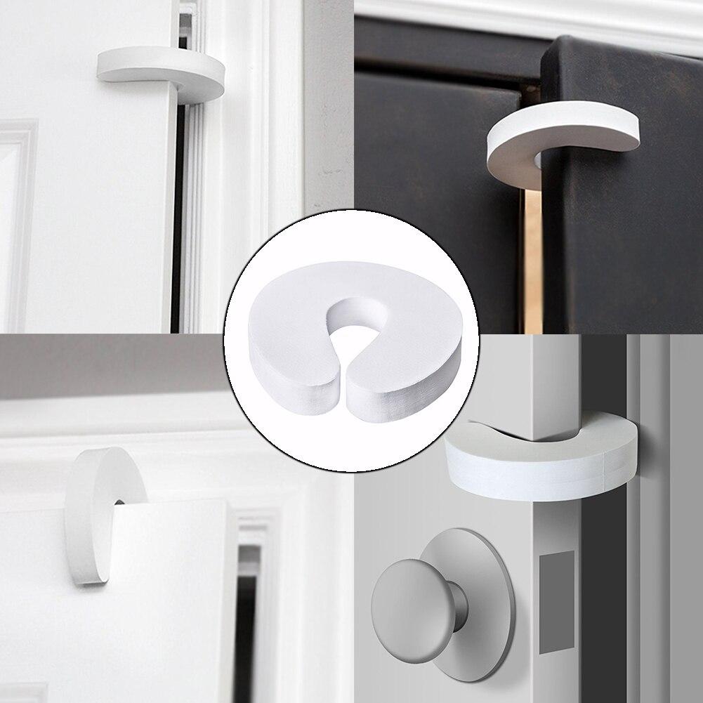 Accessories Baby Guard Child Door Stopper Cartoon Doorstop Holder Safety Finger Home For Bedroom Soft Foam Protectors