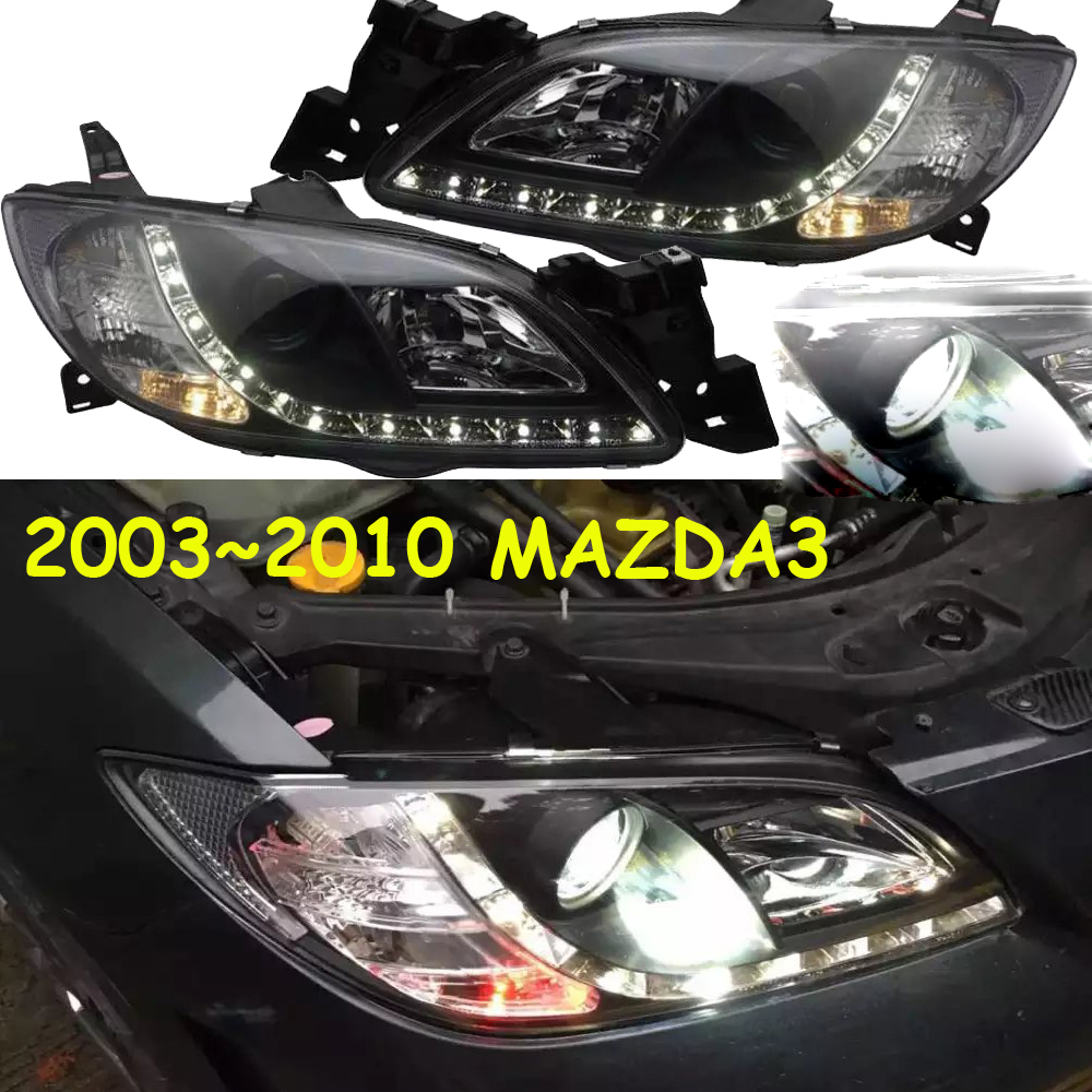 HID,2003~2010,Car Styling for Mazd3 Headlight,Tribute,RX-7,RX-8,Protege,MX-3,Miata,CX-3,CX-5,Navajo,Mazd3 head lamp,3