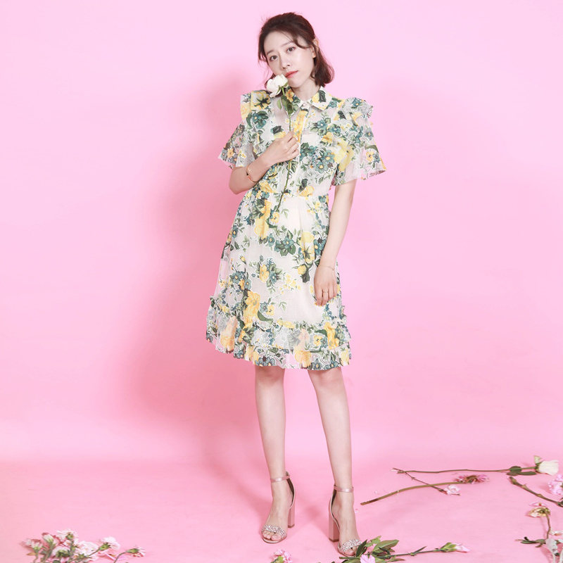 Mini Dress Hollow Out High Quality 2019 Summer New Women S Fashion Party Sexy Boho Beach