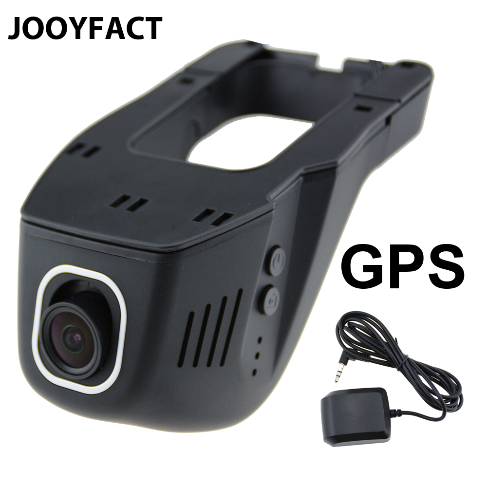 JOOYFACT A1G Car DVR Dash Cam Registrator Digital Video Recorder Camera GPS 1080P Night Vision Novatek 96658 IMX 323 WiFi for nissan elgrand novatek 96658 registrator dash cam car mini dvr driving video recorder control app wifi camera black box