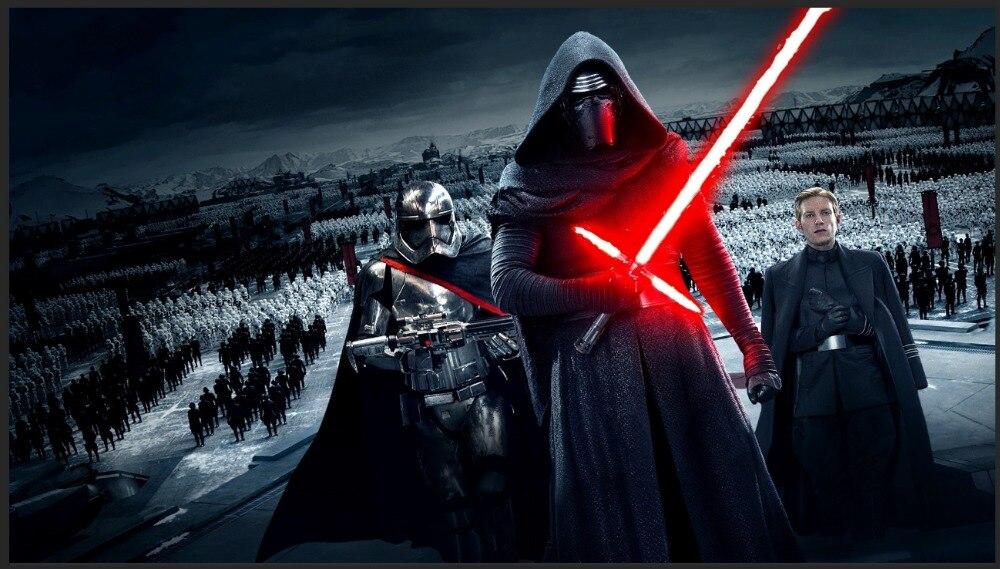 Heb Een Onderzoekende Geest 7x5ft Star Wars Force Wekt Kylo Ren Troepen Parade Moutain Custom Fotostudio Achtergrond Vinyl 220 Cm X 150 Cm