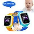 2016 Смартфон Часы Дети Kid Наручные Q60 GSM GPRS GPS Sos-вызов Локатора Трекер Анти-Потерянный Smartwatch Ребенок подарок