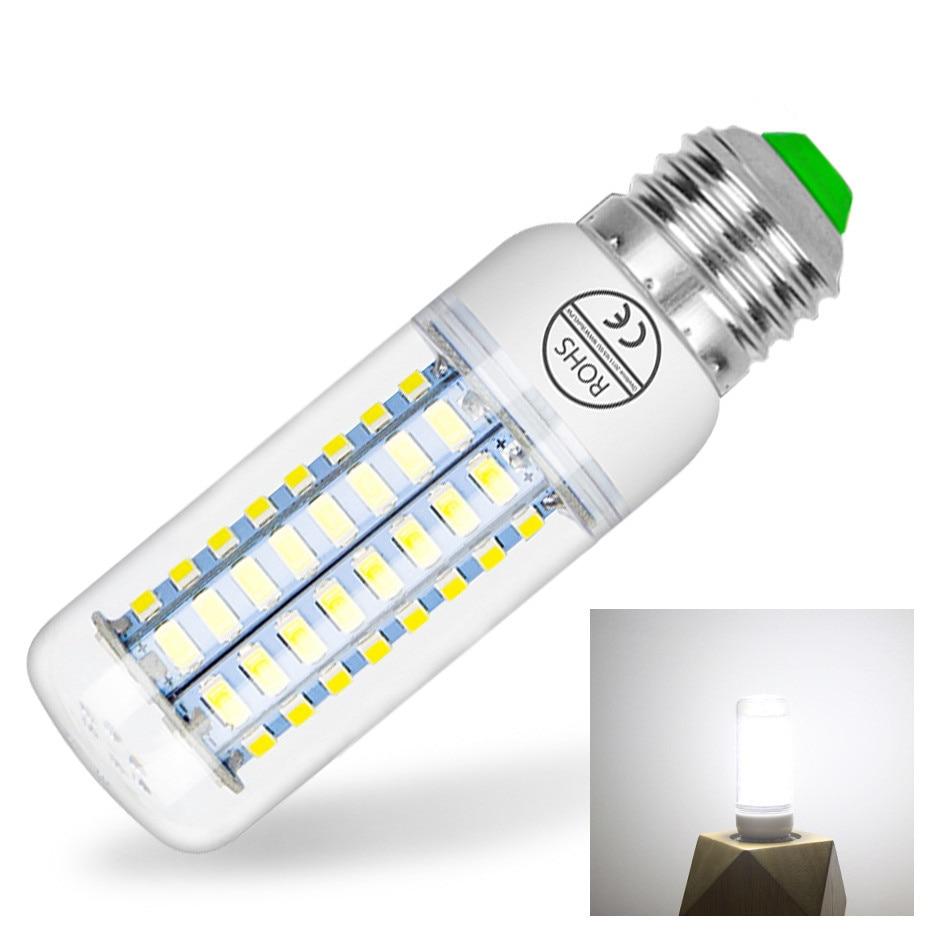 E27 Led Lamp 220V E14 Corn Light Candle Bulbs 24 36 48 56 69 72 Leds SMD 5730 LED Corn Bulb Energy Saving Led Lampe For Home