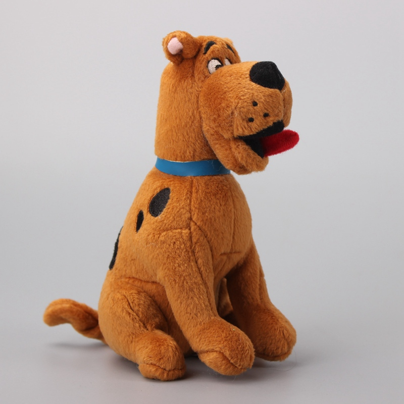 High Quality Scooby Doo Dog Plush Toy Soft Stuffed Animals Kids Gift 16 CM image
