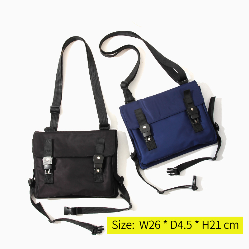 ef29f9e055 Messenger Bag Men Waterproof Nylon Leisure Black Men s Ipad Shoulder Bag  Small Designer Zipper Crossbody Bag Men sacoche homme -in Crossbody Bags  from ...