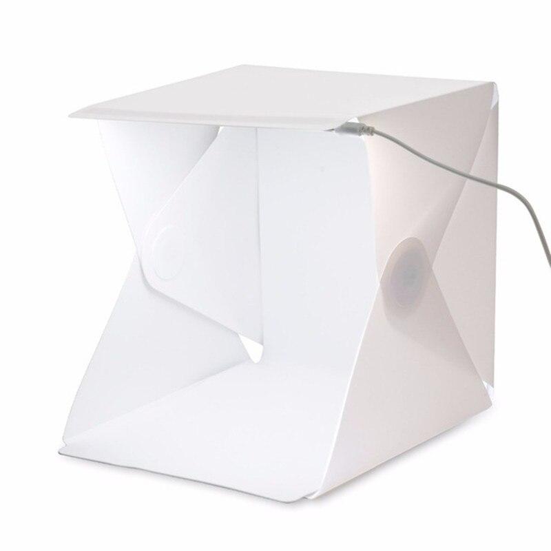 Portable Mini Folding Studio Light box Portable Photography Studio Foldable Softbox with Black/white Backgound Soft Lightbox harman kardon onyx studio 2 black