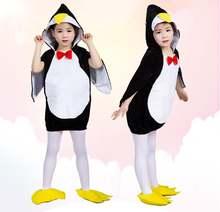 Новый костюм животного пингвина на Хэллоуин для младенцев искусственное