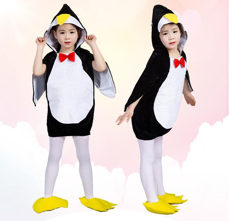 New Penguin Animal Halloween Costume For Baby Infant Boys Girls Outfit Fancy Dress Cosplay Outfits Clothings For Carnival Party