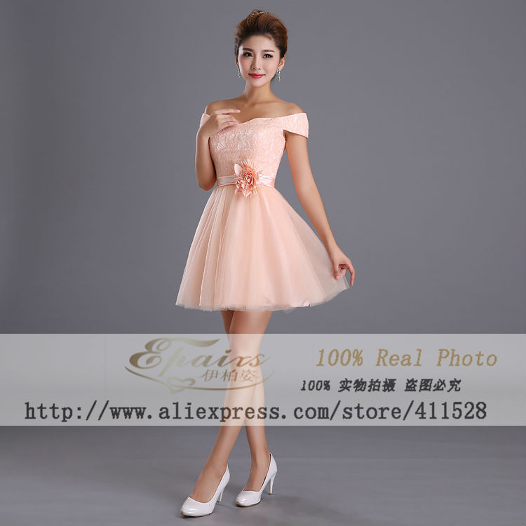 Imagenes de vestidos cortos de damas de honor