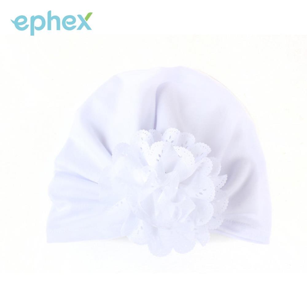 Peradix Kids Beanie Baby Flower Hat Cotton 6 Colors Hollow Flower Home Gift Children