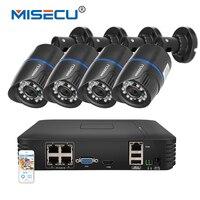 MISECU 4CH POE 1080P NVR Cloud 1080P 1TB 1 3mp 15V PoE IP 960P Camera P2P