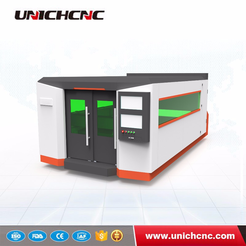 Jinan Professional 500 700 1500W metal sheet cnc fiber laser cutting machine price for carbon and stainlass steel