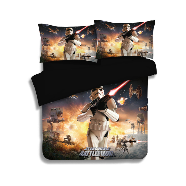 3D Star Wars beddings Stormtrooper Phantom pillowcase